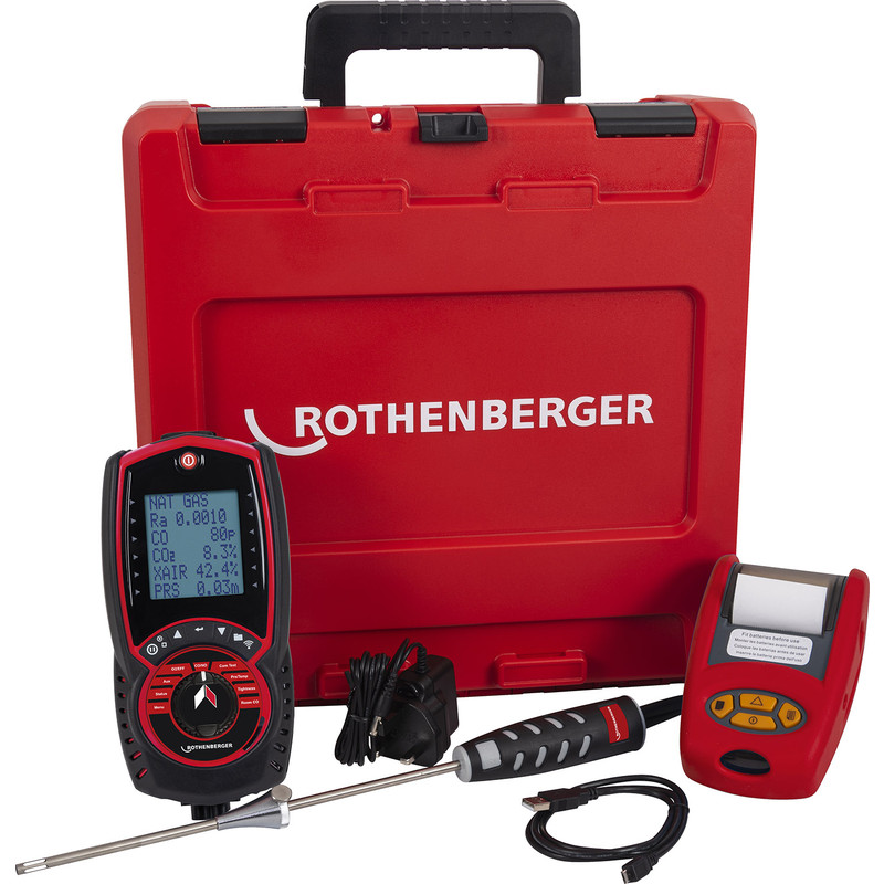 Rothenberger RO 458s Flue Gas Analyser