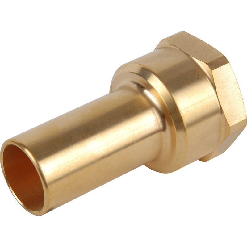 Compressed Air Female Brass Stem Adaptor