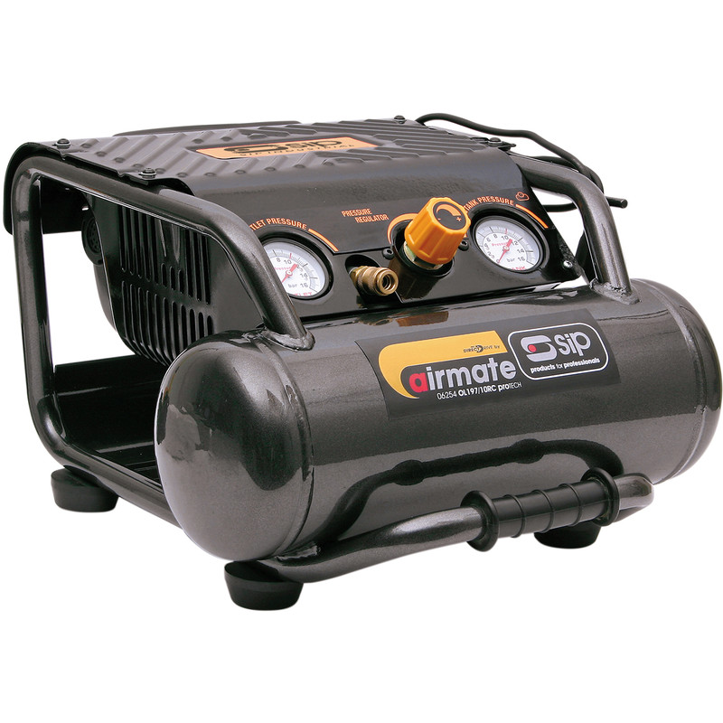 SIP 06256 Oil Free 10L 1.5HP Compressor