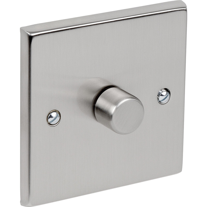 Satin Chrome LED Dimmer