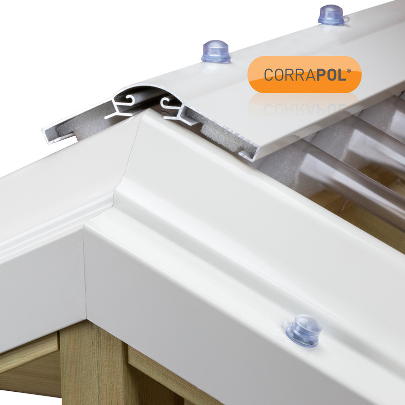 Corrapol Aluminium Ridge Bar Set