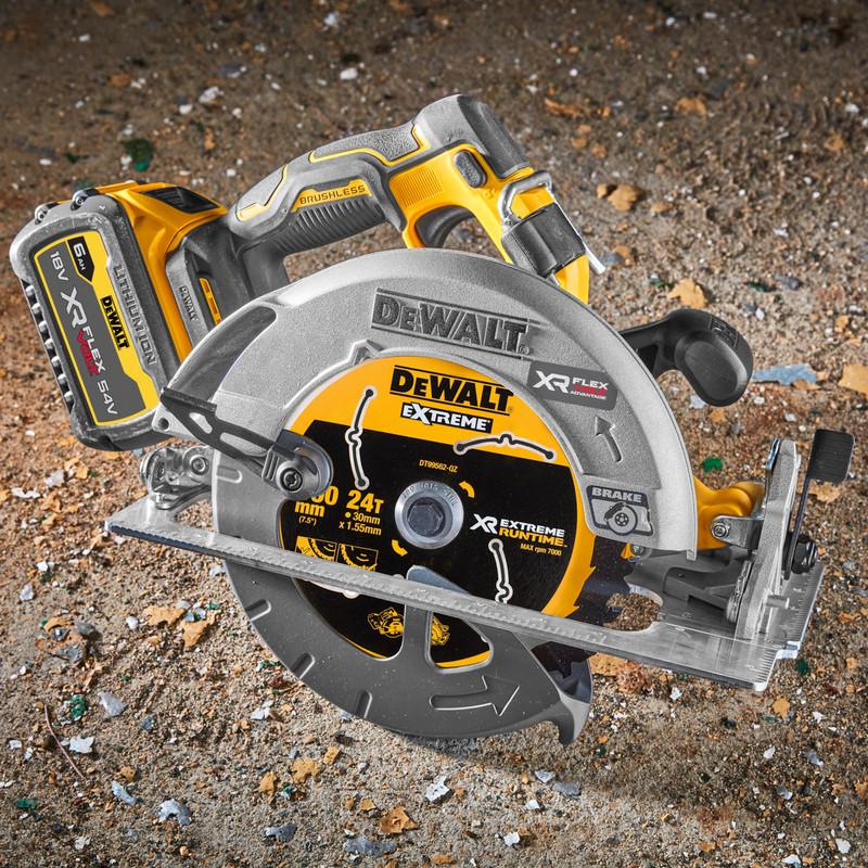 DeWalt 18V XR Flexvolt Advantage High Power 190mm Circular Saw