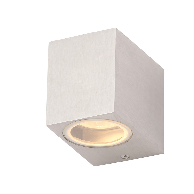 Fleet GU10 Square Aluminium Light IP44