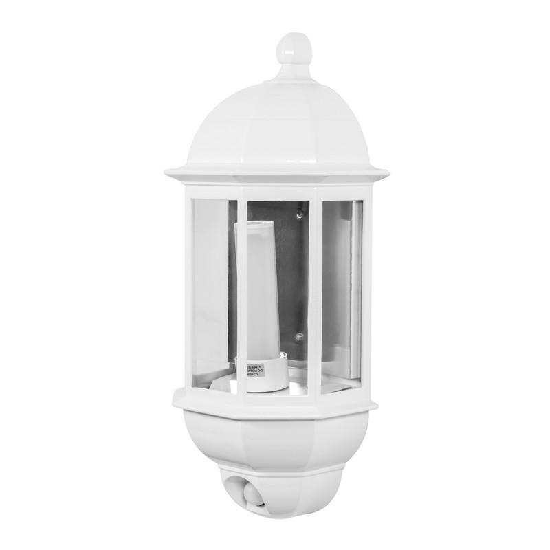 P-Lux 8W LED Photocell & PIR Half Lantern