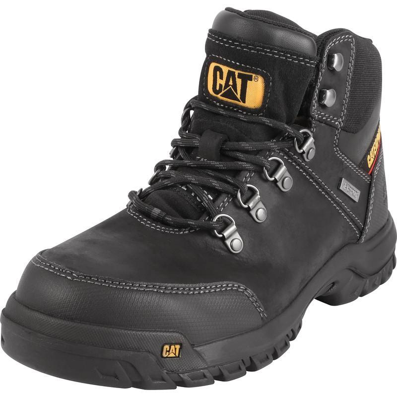 Caterpillar Framework Safety Boots Black Size 8