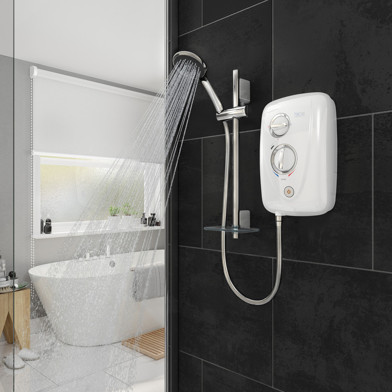 Triton T80 Easi-Fit+ Thermostatic Electric Shower