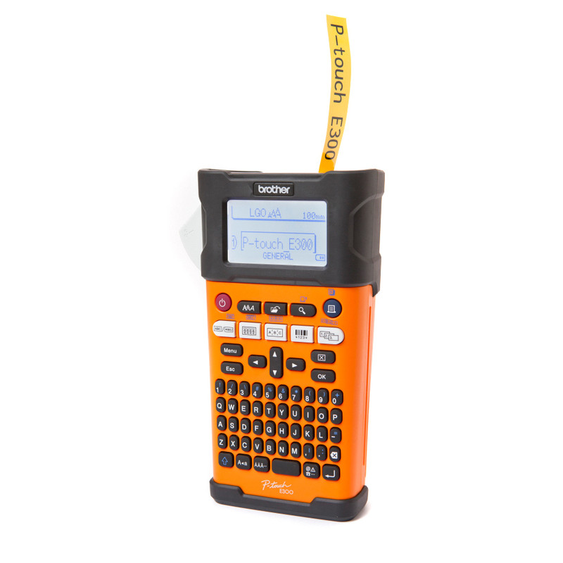Brother PTE300VP Handheld Label Printer