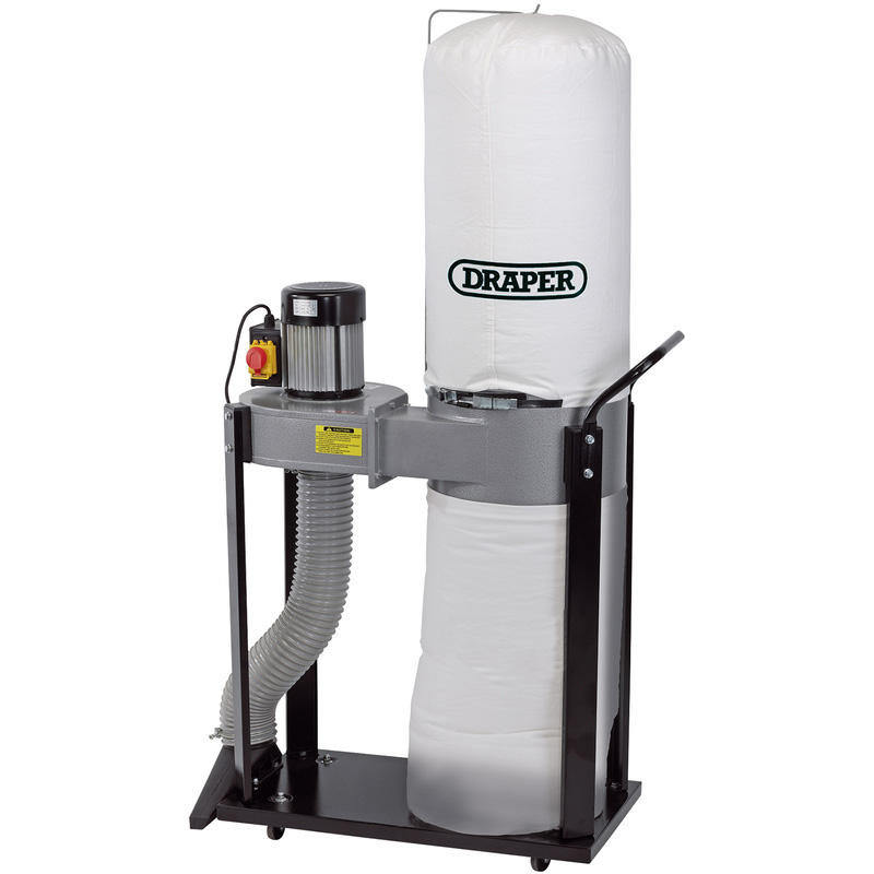 Draper 55L 750W Portable Dust Extractor