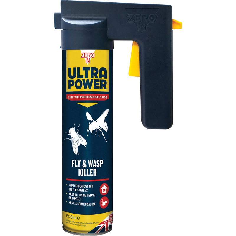 Zero In Ultra Power Fly & Wasp Insect Killer