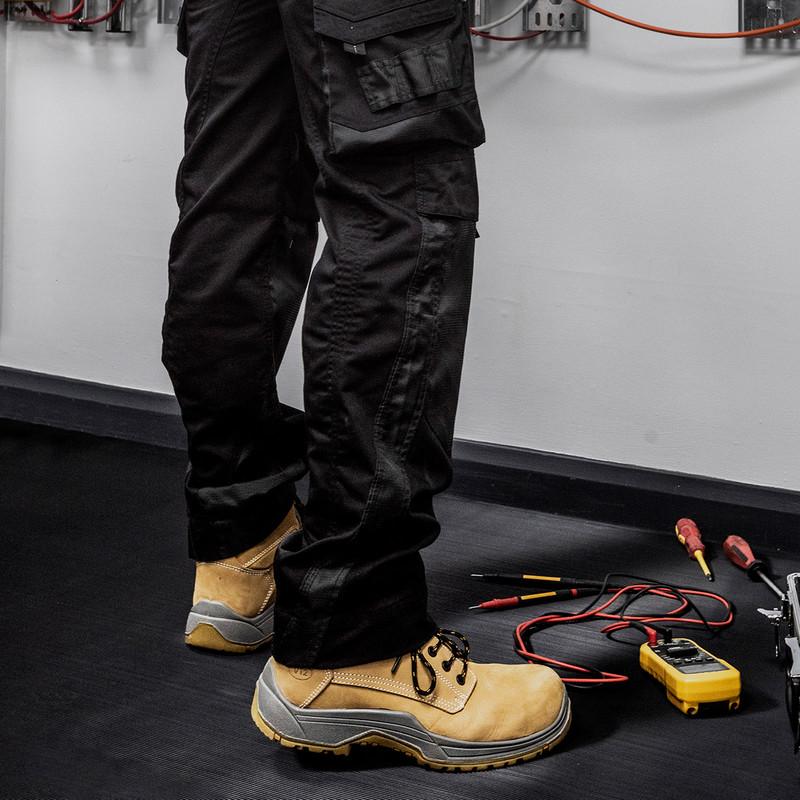 Rubber Rib Anti-Slip Floor Matting