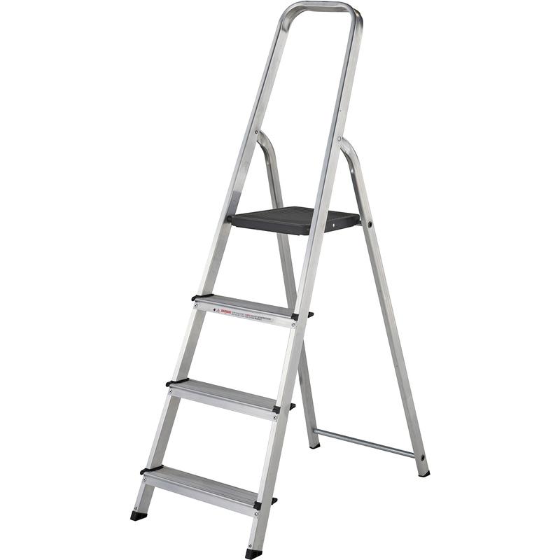 High Handrail Step Ladder