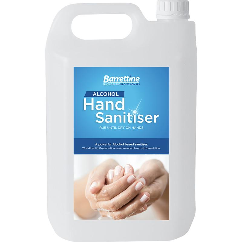 Barrettine Hand Sanitiser