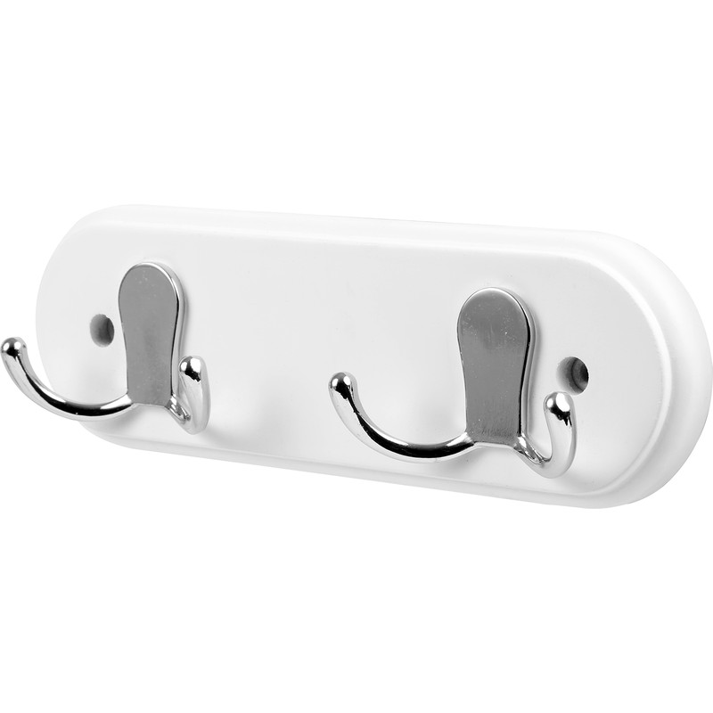 Twin Double Robe Hook Rail