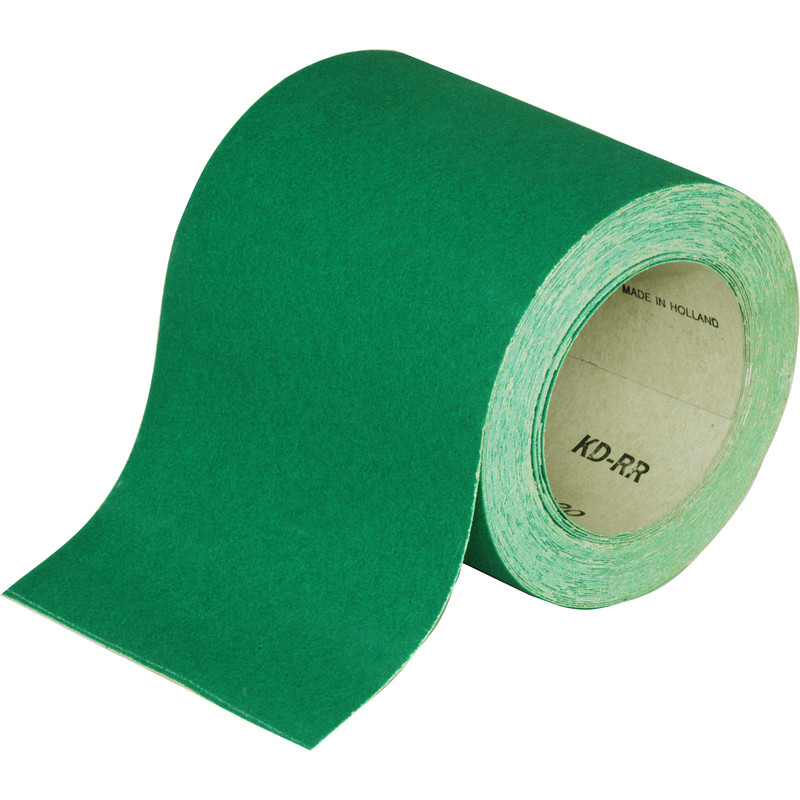 Aluminium Oxide Green Sanding Roll 115mm x 10m