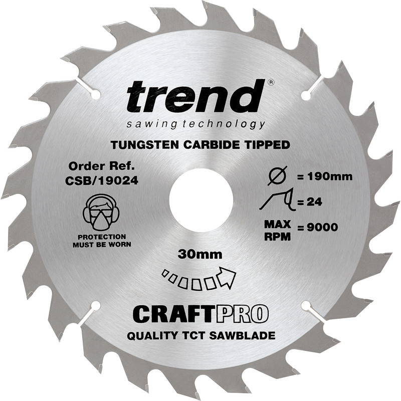 Trend Craft Circular Saw Blade