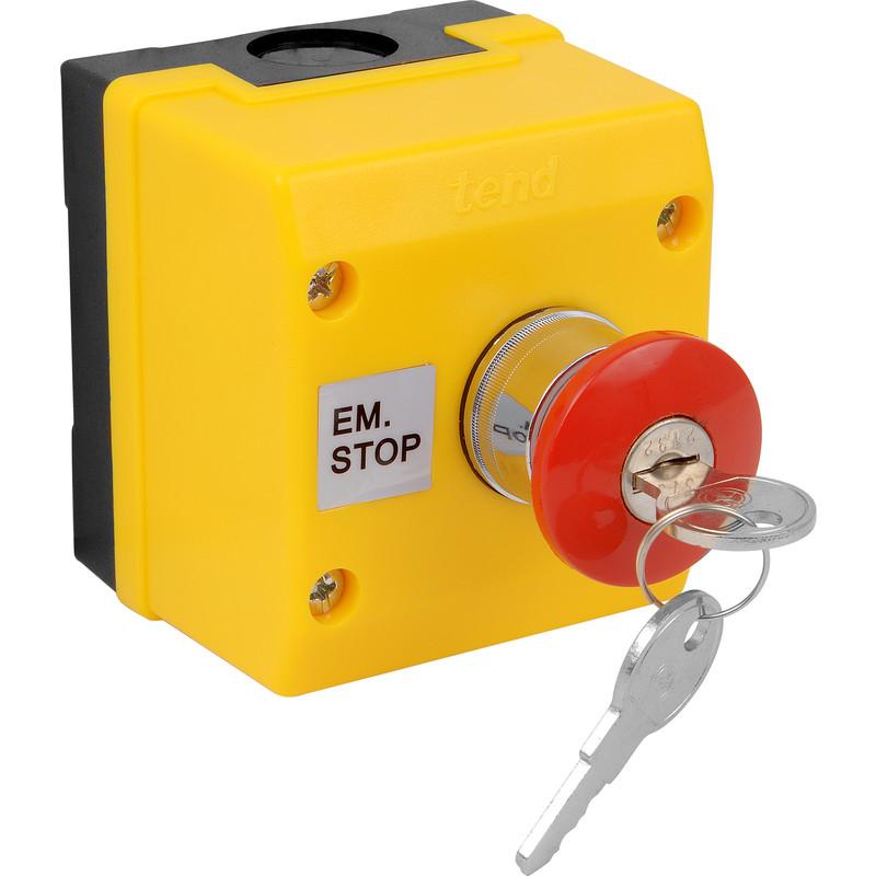 Axiom Push Button Key Lock Off