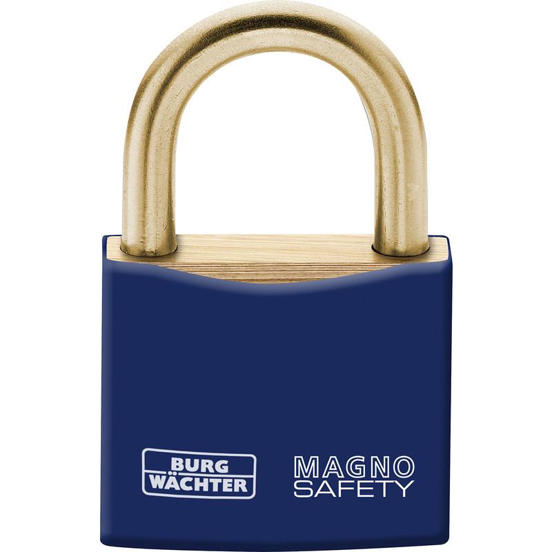 Burg-Wachter Magno Brass Safety Lockout Padlock