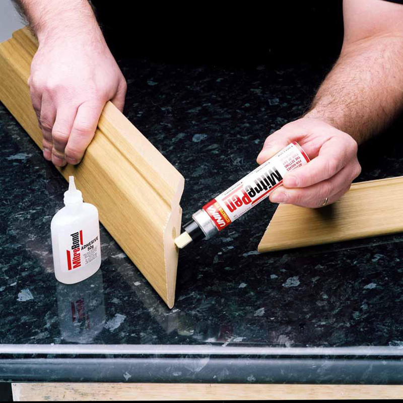 MitrePen Rapid Activator & MitreBond Adhesive