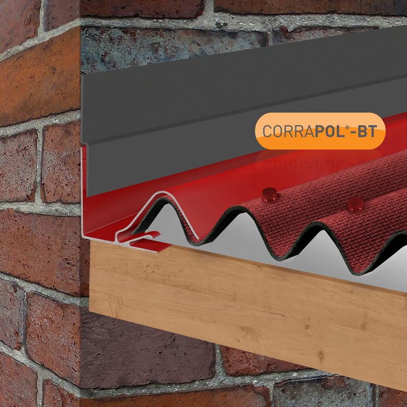 Corrapol-BT Rock n Lock Wall Flashing