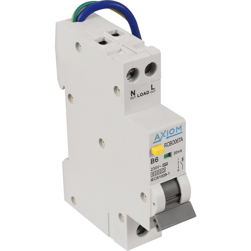 Axiom Mini RCBO A Type