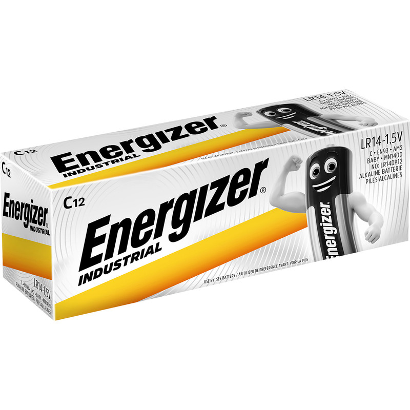 Energizer Industrial C /12