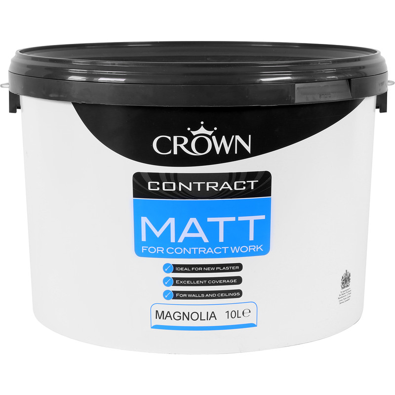 Crown Contract Matt Emulsion Paint 10L