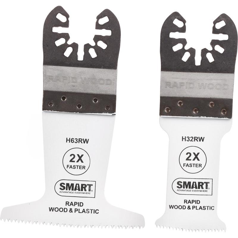 Smart Multi Cutter Rapid Wood Blade Set