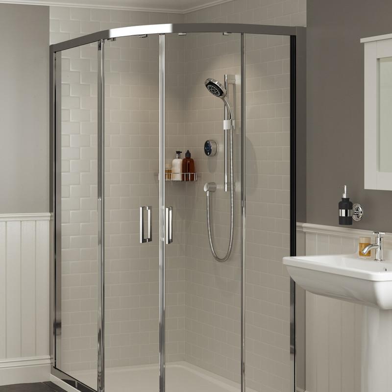 Mira Platinum Thermostatic Digital Mixer Shower