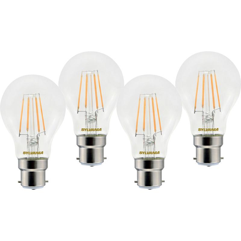 Sylvania LED RT A60 Filament Clear GLS Lamp