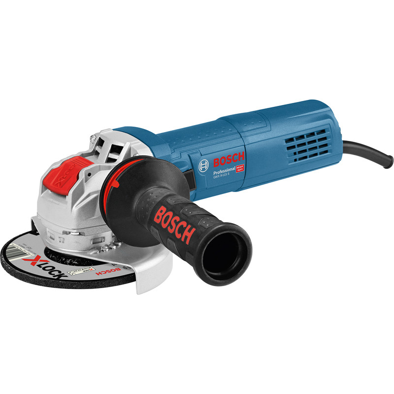 Bosch GWX 9-115 S Professional Corded Angle Grinder