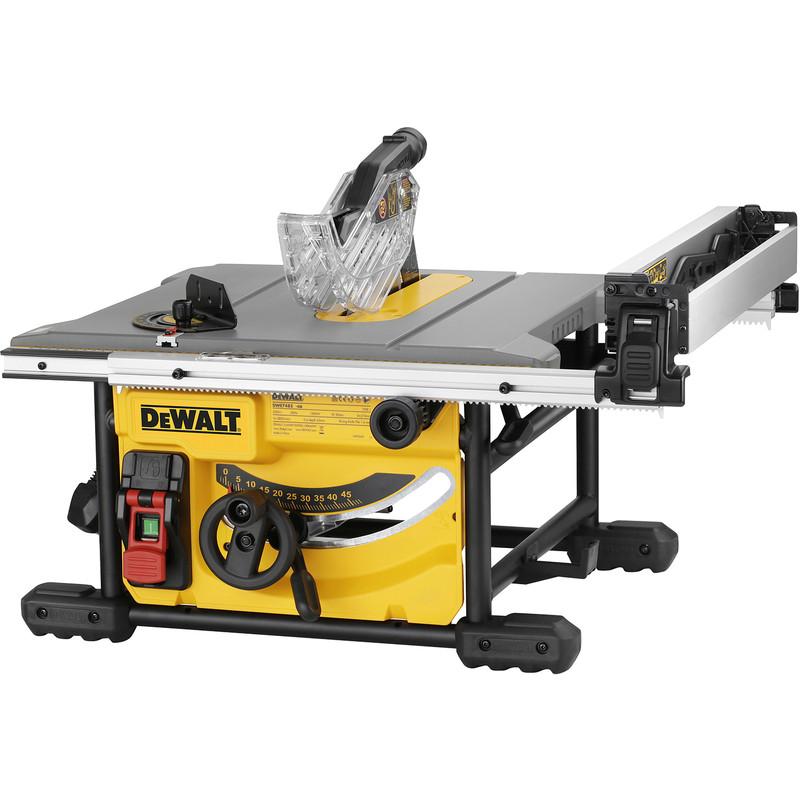 DeWalt 210mm 1700W Compact Table Saw