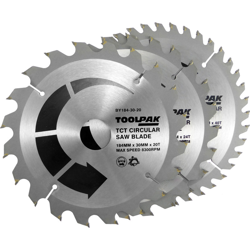Toolpak TCT Circular Saw Blades