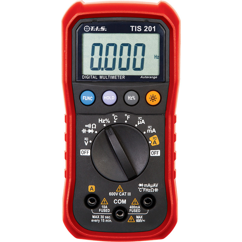 TIS Autoranging Digital Multimeter