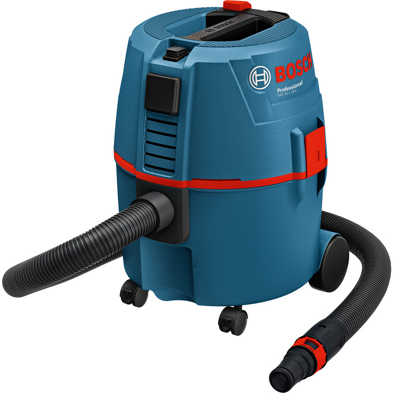 Bosch GAS 20L SFC 1200W Wet & Dry Dust Extractor