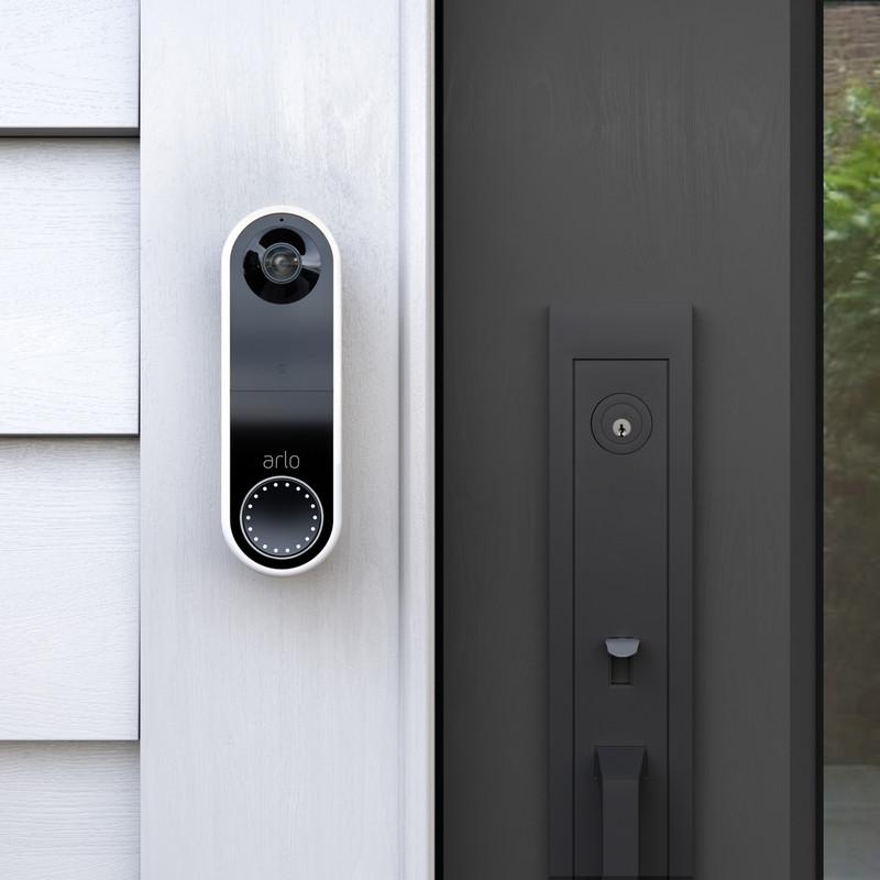 Arlo Essential Smart Wireless Video Doorbell with Siren