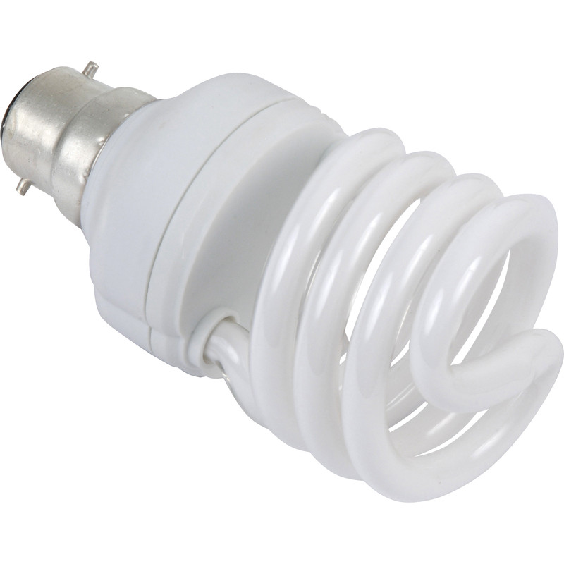Sylvania Energy Saving CFL Spiral T2 Lamp