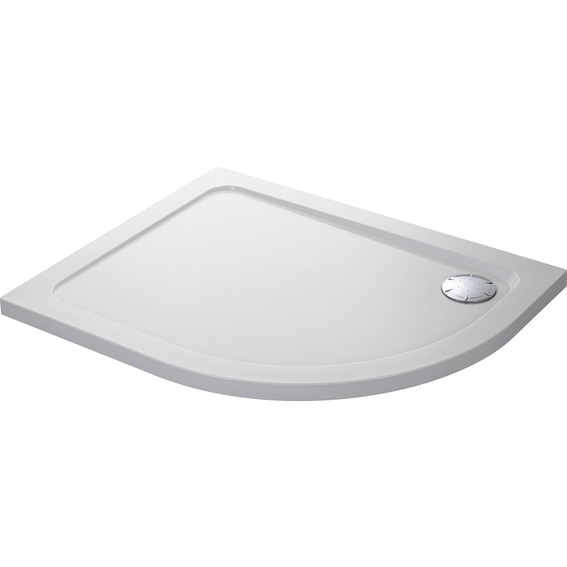 Mira Flight Low Offset Quadrant Shower Tray