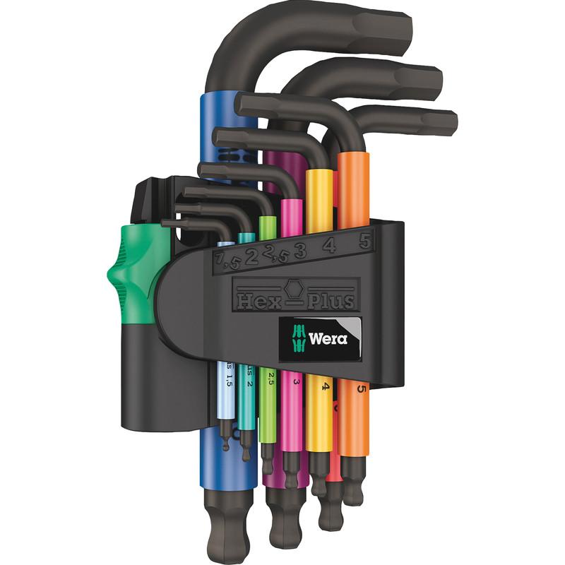 Wera Multicolour Stubby Hex Key Set