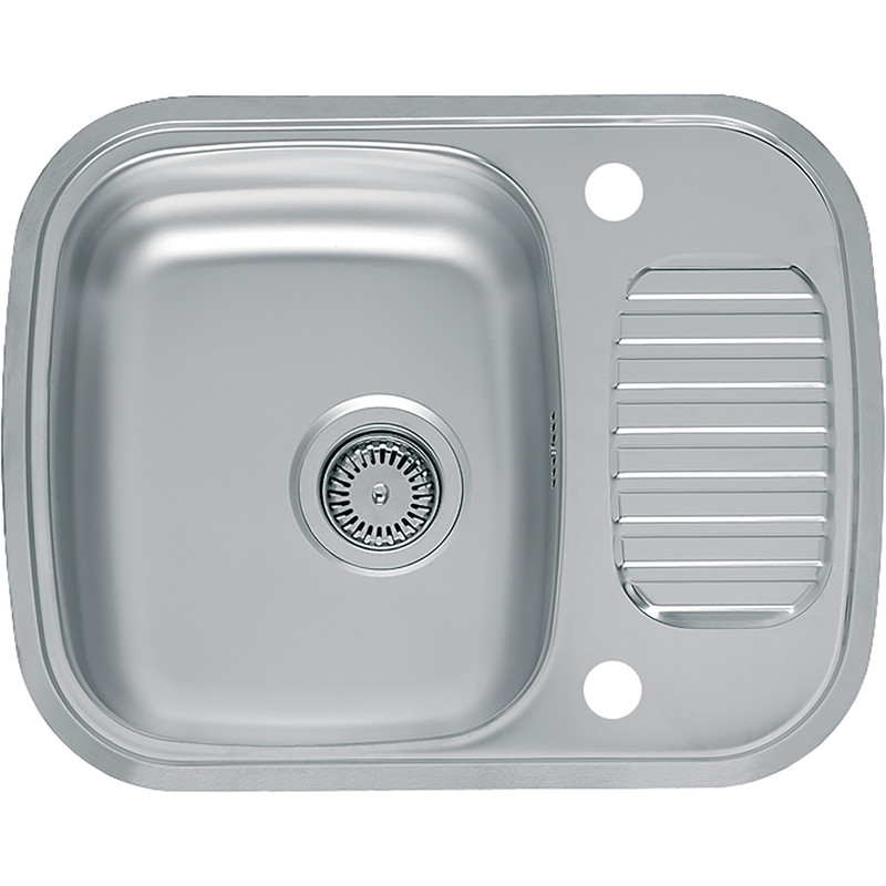 Reginox Stainless Steel Compact Single Bowl Kitchen Sink & Drainer