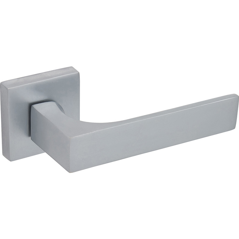 Orsina Designer Square Lever On Rose Door Handles