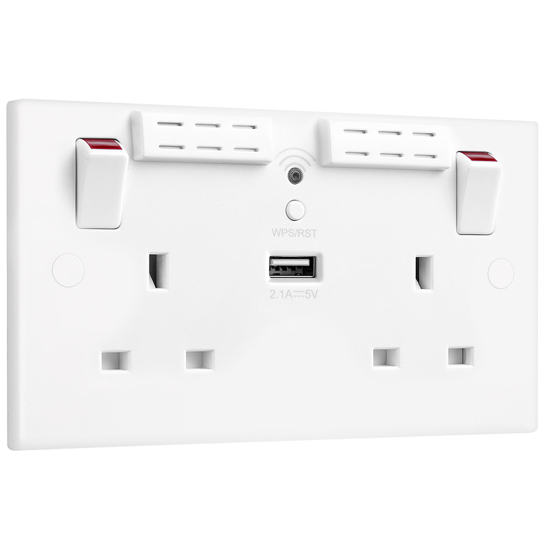 Wifi Extender Socket with USB