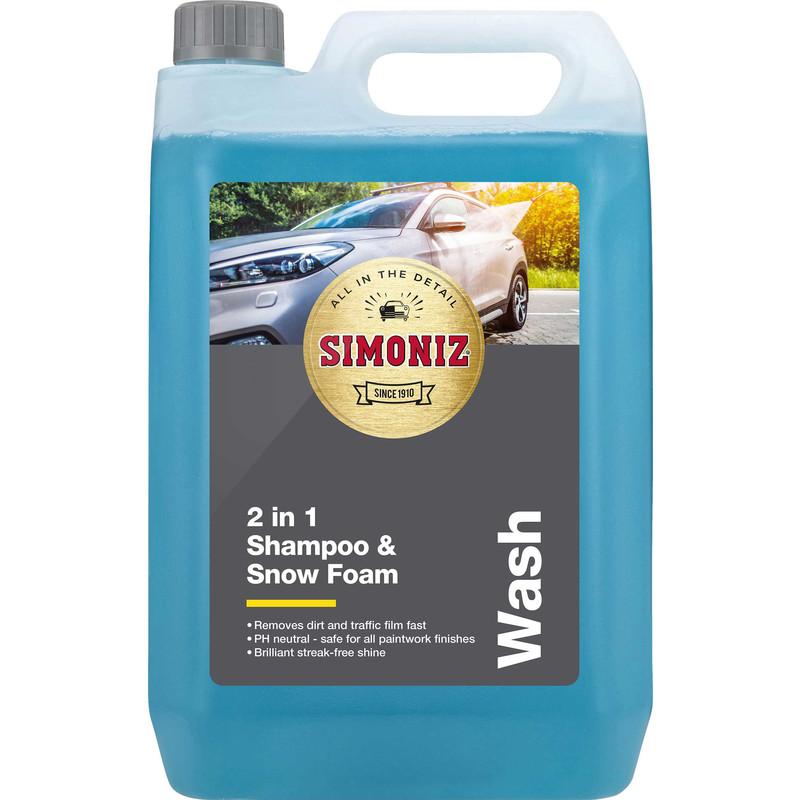Simoniz 2 in 1 Shampoo & Snow Foam