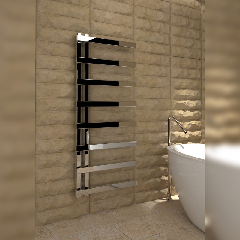 Kudox Astrillo Designer Chrome Towel Radiator