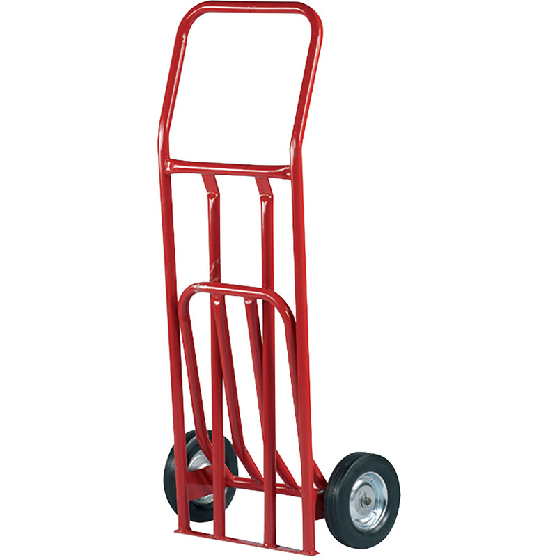 Hand Truck with Folding Toe Plate