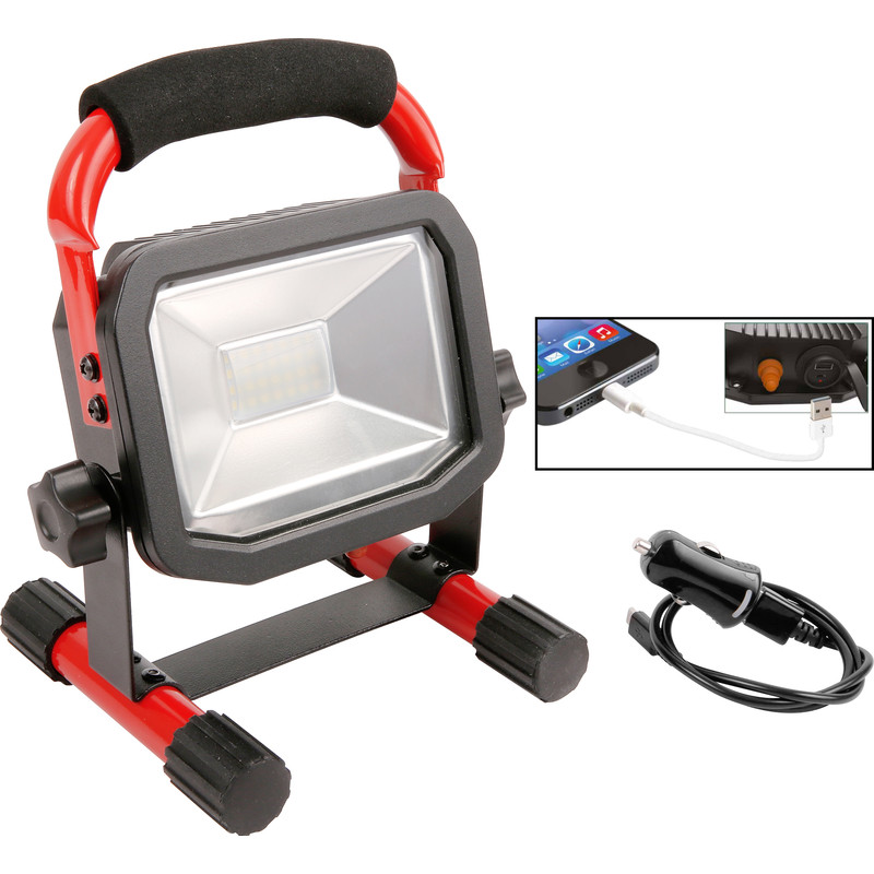 Luceco Rechargeable LED Work Light IP65