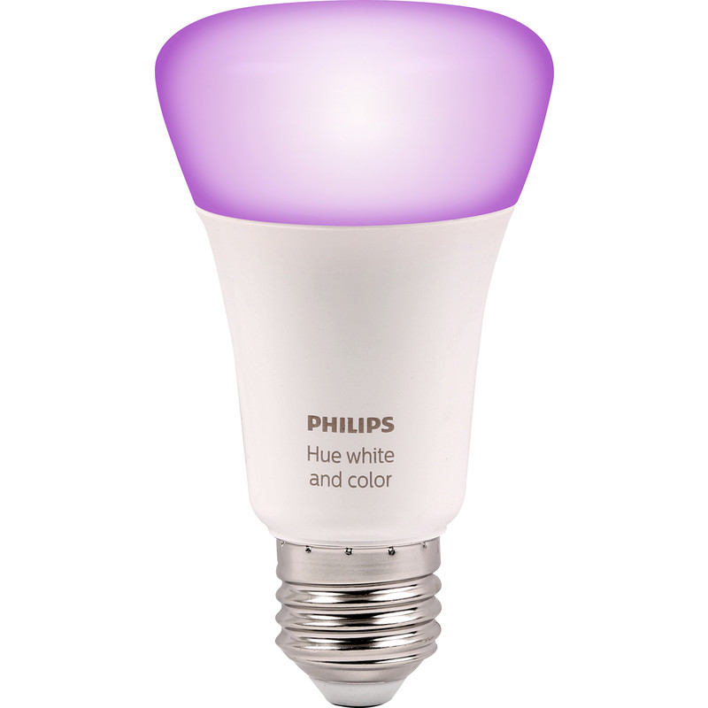 Philips Hue White and Colour Ambiance Lamp E27 ES ee01eb77b504