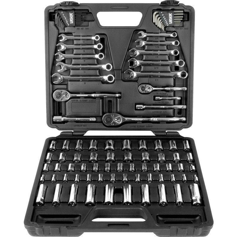 Laser Socket & Wrench Set