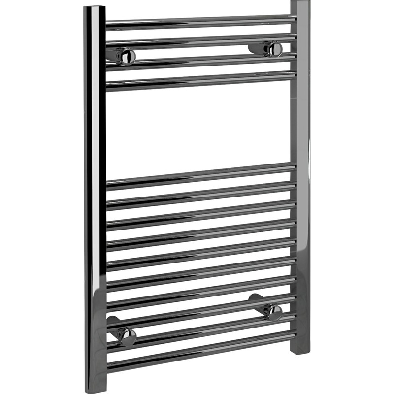 Kudox Chrome Flat Ladder Towel Radiator