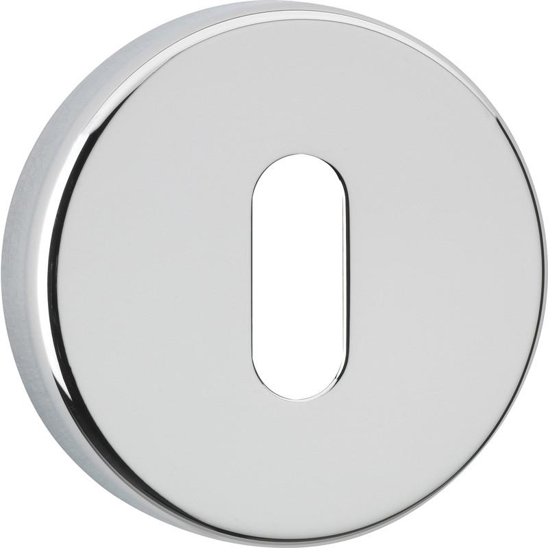 Urfic Round Chrome Escutcheon