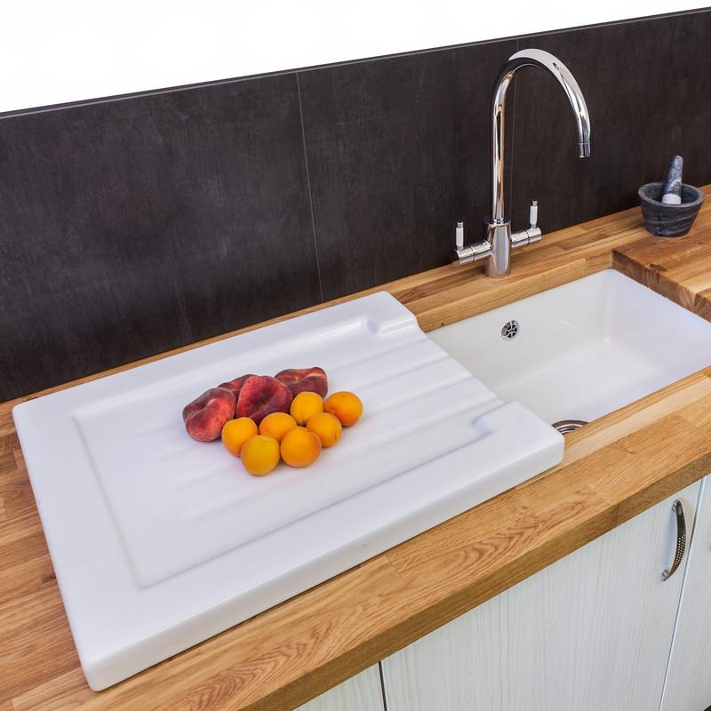 Reginox Ceramic Sink Drainer